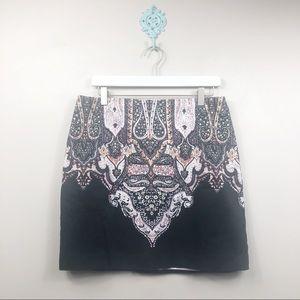 Tahari Print Skirt Size US 12